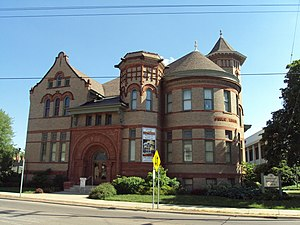 National Register of Historic Places listings in Lenawee County, Michigan - Image: Adrian Public Library 2010