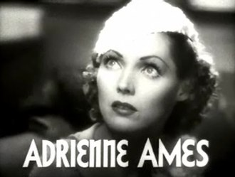 Adrienne Ames - from the trailer for Woman Wanted (1935)