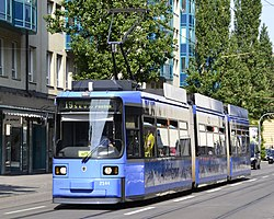 Adtranz GT6N in Munich (Line 19).JPG