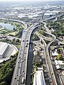 Aerial view of M6A38 Spaghetti Junction.jpg