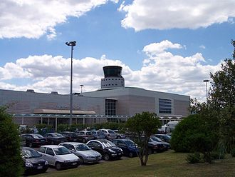 Olbia Costa Smeralda Airport - Terminal building and control tower