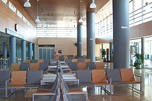 Albacete Airport - Interior view of the terminal