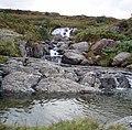 Afon Dylif Waterfall - geograph.org.uk - 645488.jpg