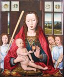 After Hans Memling - Béthune Madonna with Angels making Music.jpg