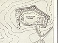 Agaton Fort from Admiralty Chart No 871 Tamar River, Published 1966.jpg