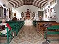 Aguas Calientes (Peru), interior of the church.jpg