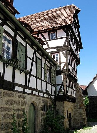 Aichtal - Image: Aichtal Groetzingen Burgstrasse