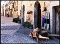 Ainsa, les ruelles de la ville médiévale.jpg