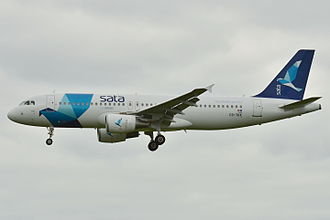 Azores Airlines - Azores Airlines Airbus A320-200 in former SATA Internacional livery