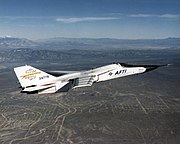 Aircraft Fighter Jet F-111 AFTI NASA 0
