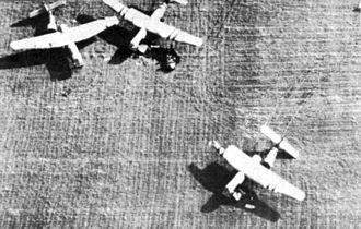 Airspeed Horsa - Horsas on the ground at Arnhem