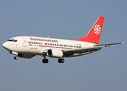 Airzena - Georgian Airways. Boeing 737-529 (Alan Lebeda 2008).jpg