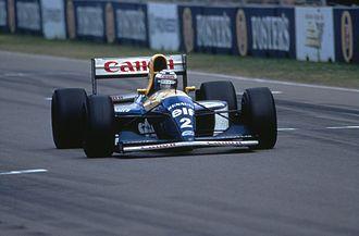 1993 Australian Grand Prix - Alain Prost during the race in Adelaide on 7 November 1993.