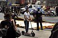 Alain Robert ascend of New York Times Building - 22 - Aftermath of Renaldo Clarke climb.jpg