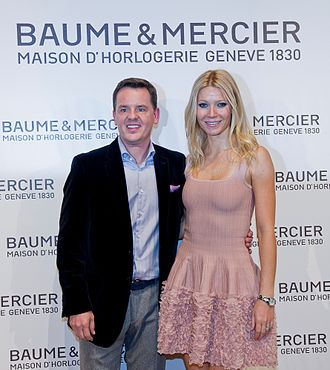 Baume et Mercier - Image: Alain Zimmermann with Gwyneth Paltrow