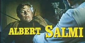 Albert Salmi - in the trailer for The Brothers Karamazov (1958)