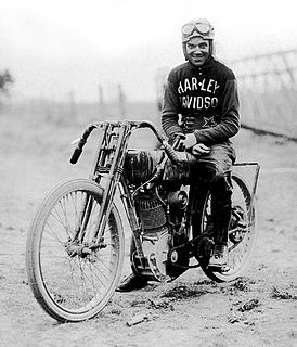 Albert Burns (motorcyclist) American motorcycle racer