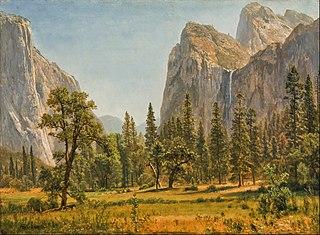 Bridal Veil Falls, Yosemite Valley, California