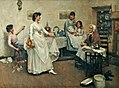 Albert Chevallier Tayler - A Dress Rehearsal 1888.jpg