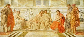 Song of Songs - The Shulamite by Albert Joseph Moore (1864)