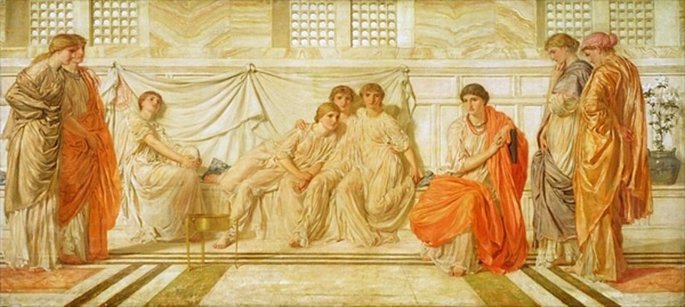 Albert Joseph Moore - The Shulamite 1864