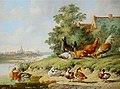 Albertus Verhoesen Birds at the river.jpg
