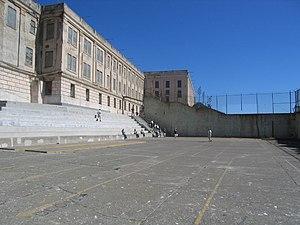 Recreation Yard (Alcatraz) - Alcatraz recreation yard