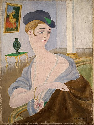 "Aleksander Uurits. ""Portrait of a Lady"""