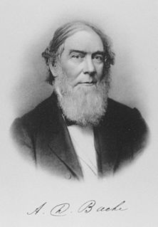 Alexander Dallas Bache American scientist (1806-1867)