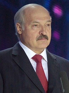 Alexander Lukashenko President of Belarus since 20 July 1994