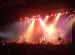 Alexisonfire - Alexisonfire performing in 2007.
