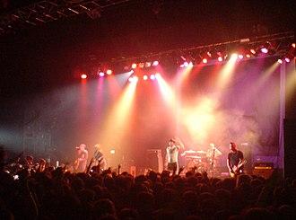 Alexisonfire - Alexisonfire performing in 2007.