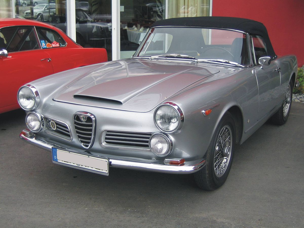 alfa romeo 2600 wikipedia. Black Bedroom Furniture Sets. Home Design Ideas