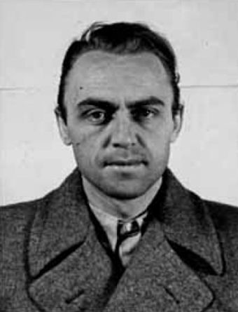 Alfred Naujocks, who organised and led the Gleiwitz operation on the orders of the Gestapo Alfred Naujocks.jpg