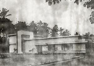 Oriental Film - Image: Algemeen Nederlandsch Indisch Filmsyndicaat (ANIF) studio, Batavia