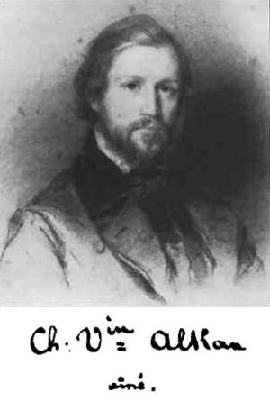 Charles-Valentin Alkan - Charles-Valentin Alkan, c. 1835. Portrait by Édouard Dubufe
