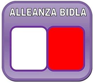 Alleanza Bidla - Image: Alleanza Bidla logo