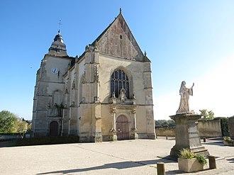 Almenêches - The church in Almenêches