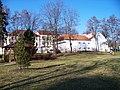 Altánek v zahradě Grabovy vily, pohled k ulici Na Košince.jpg