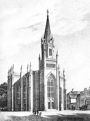 New Altstadt Church - Image: Altstadtkirche 1845