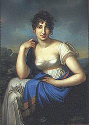 Amalia Beer[de], Meyerbeer's mother, painting by Carl Kretschmar[de], c. 1803 (Source: Wikimedia)