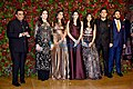 Ambani Family at reception of Deepika and Ranveer 2018.jpg