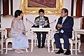 Ambassador Mary Jo A. Bernardo-Aragon and Prime Minister Prayuth Chan-o-cha meet at the Thai Government House.jpg