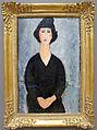 Amedeo modigliani, donna in nero, 1917 ca..JPG