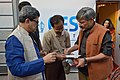 Amol Palekar Autographs to Fan with Tridib Chatterjee - 40th International Kolkata Book Fair - Milan Mela Complex - Kolkata 2016-02-04 0833.JPG