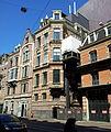 Amsterdam, Stadsschouwburg, Marnixstraatzijde, artiesteningang en laadplatform.jpg