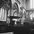 Amsterdam. Interieur van de Westerkerk met preekstoel, Bestanddeelnr 918-1334.jpg