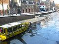 Amsterdam - Oudezijds Voorburgwal - boat.JPG