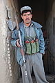 An Afghan Uniformed Police (AUP) officer poses for a photo at the AUP prison in the Pul-e-Alam district, Logar province, Afghanistan, Jan. 28, 2012 120128-A-BZ540-126.jpg