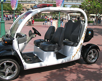 Disneyland Resort - Anaheim Police vehicle at Disneyland Resort